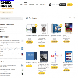 New BMED Press LLC website and e-commerce system