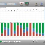 emWave Desktop user interface with overall progress screen