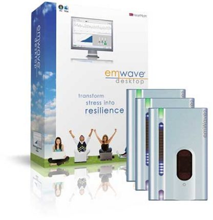 HeartMath emWave Desktop and emWave2 combo package