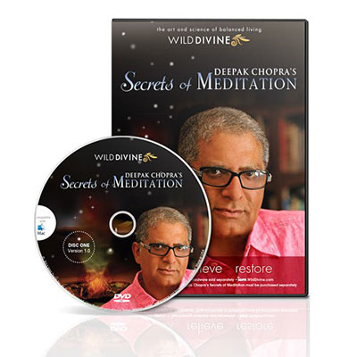 Deepak Chopra's Secrets Of Meditation (Software Only)