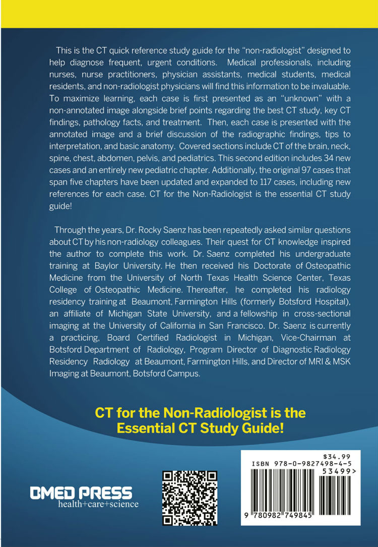 Ct for the non radiologist the essential ct study guide 2nd ed ct fandeluxe Image collections