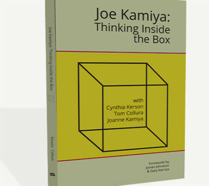 Joe Kamiya Front Book Cover